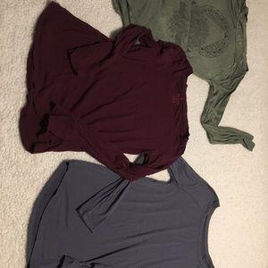 3 long sleeve tee bundle